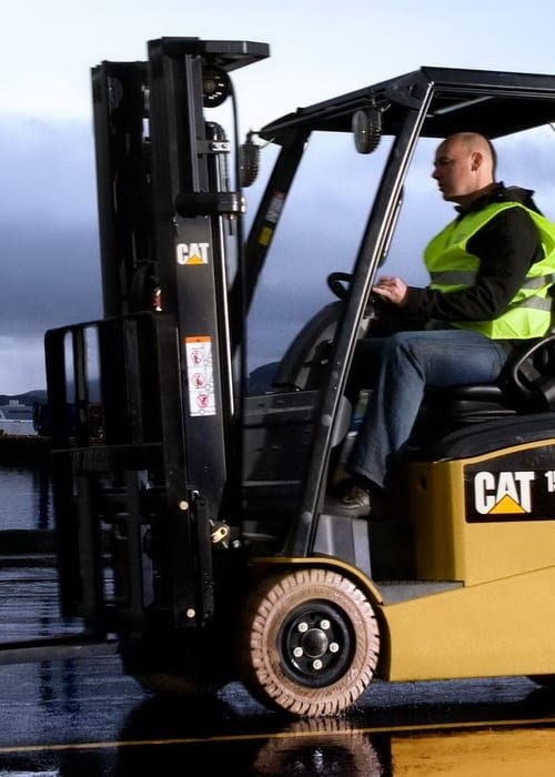 CAT Lift Trucks in the South of Ireland 1
